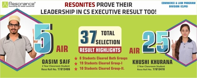 CA Executive 2018 Dec Result
