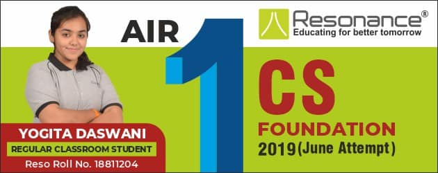 CS Foundation 2019 June Result